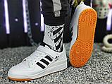 Чоловічі кеди Adidas Originals Forum Low Black/White-Gum G25813, фото 2