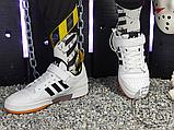 Чоловічі кеди Adidas Originals Forum Low Black/White-Gum G25813, фото 5