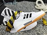 Чоловічі кеди Adidas Originals Forum Low Black/White-Gum G25813, фото 6