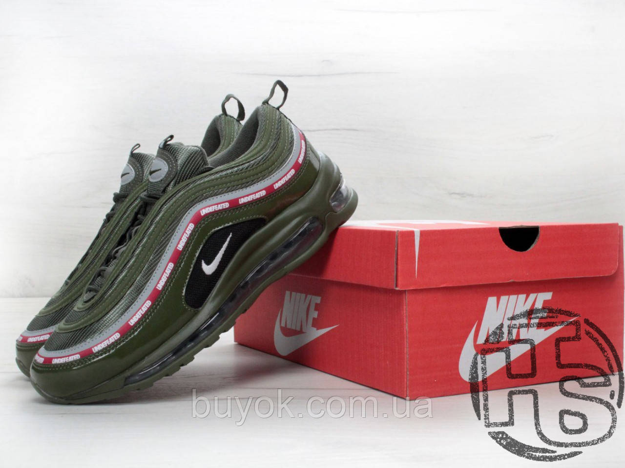 Чоловічі кросівки Nike Air Max 97 OG x Undefeated Green