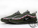 Чоловічі кросівки Nike Air Max 97 OG x Undefeated Green, фото 2