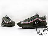 Чоловічі кросівки Nike Air Max 97 OG x Undefeated Green, фото 3