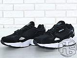 Женские кроссовки Adidas Falcon Black/White B28129, фото 4