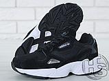 Женские кроссовки Adidas Falcon Black/White B28129, фото 6