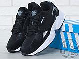 Женские кроссовки Adidas Falcon Black/White B28129, фото 7