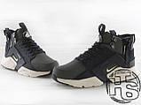 Чоловічі кросівки Nike Air Huarache x ACRONYM MID City LEA Green/Black 856787-107, фото 2