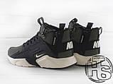 Чоловічі кросівки Nike Air Huarache x ACRONYM MID City LEA Green/Black 856787-107, фото 5