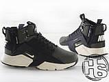 Чоловічі кросівки Nike Air Huarache x ACRONYM MID City LEA Green/Black 856787-107, фото 6