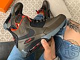 Чоловічі кросівки Nike Air Max 90 Sneakerboot Dark Loden/Black 684714-300, фото 2