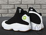 Чоловічі кросівки Air Jordan 13 Retro Black/White/Gum 439358-021, фото 5
