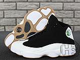 Чоловічі кросівки Air Jordan 13 Retro Black/White/Gum 439358-021, фото 7