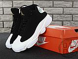Чоловічі кросівки Air Jordan 13 Retro Black/White/Gum 439358-021, фото 8