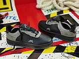 Чоловічі кросівки ACW x Nike Air Force 1 Black/Dark Grey-White BQ6924-001, фото 3