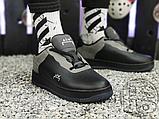 Чоловічі кросівки ACW x Nike Air Force 1 Black/Dark Grey-White BQ6924-001, фото 8