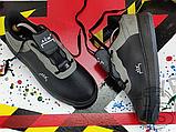 Чоловічі кросівки ACW x Nike Air Force 1 Black/Dark Grey-White BQ6924-001, фото 9