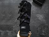 Женские сапоги UGG Bailey Bow Tall II Boot Black 1016434, фото 3