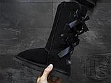 Женские сапоги UGG Bailey Bow Tall II Boot Black 1016434, фото 4