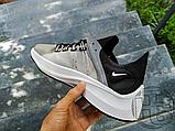 Чоловічі кросівки Nike EXP-X14 Black Grey Wolf AO3170-001, фото 6