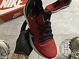 Мужские кроссовки Air Jordan React Havoc Gym Red Black AR8815-600, фото 5