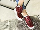 Жіночі кросівки Nike Air Force 1 Sage Low Red White AR5339-602, фото 3