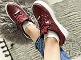 Жіночі кросівки Nike Air Force 1 Sage Low Red White AR5339-602, фото 4