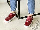 Жіночі кросівки Nike Air Force 1 Sage Low Red White AR5339-602, фото 5