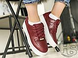 Жіночі кросівки Nike Air Force 1 Sage Low Red White AR5339-602, фото 8