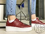 Жіночі кросівки Nike Air Force 1 Sage Low Red White AR5339-602, фото 9
