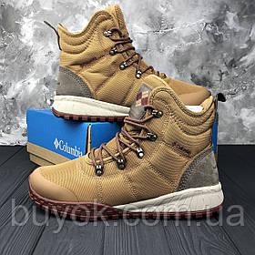 Оригинальные мужские ботинки Columbia Fairbanks Omni-Heat Elk Deep Rust BM2806-286