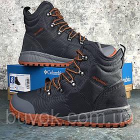 Оригинальные мужские ботинки Columbia Fairbanks Omni-Heat Graphite Dark Adobe BM2806-053