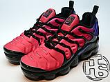 Мужские кроссовки Nike Air VaporMax Plus Black/Team Red/Hyper Violet AO4550-001, фото 2
