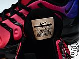 Мужские кроссовки Nike Air VaporMax Plus Black/Team Red/Hyper Violet AO4550-001, фото 3
