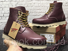 Зимові черевики Red Wing USA Rover 6-inch boot 8424890 Bordo 2952 (позов. хутро)