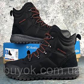 Оригинальные мужские ботинки Columbia Fairbanks Omni-Heat Black Rusty BM2806-010