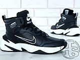 Мужские кроссовки Nike M2K Mid Tekno Black/White AV4789-002, фото 5