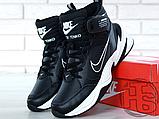 Мужские кроссовки Nike M2K Mid Tekno Black/White AV4789-002, фото 7