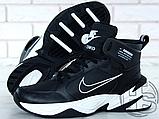 Мужские кроссовки Nike M2K Mid Tekno Black/White AV4789-002, фото 8