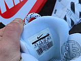 Чоловічі кросівки Nike Air More Uptempo x Off-White White/Black 902290-105, фото 2