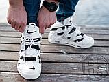 Мужские кроссовки Nike Air More Uptempo x Off-White White/Black 902290-105, фото 4