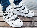 Чоловічі кросівки Nike Air More Uptempo x Off-White White/Black 902290-105, фото 8