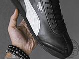 Мужские кроссовки Puma BMW MMS Roma Black White 306195-01, фото 2