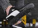 Мужские кроссовки Puma BMW MMS Roma Black White 306195-01, фото 5