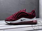 Чоловічі кросівки Nike Air Max 720 Wine Red/Black/White AR9293-600, фото 2