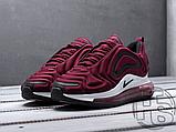 Чоловічі кросівки Nike Air Max 720 Wine Red/Black/White AR9293-600, фото 4