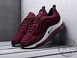 Чоловічі кросівки Nike Air Max 720 Wine Red/Black/White AR9293-600, фото 5
