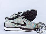 Женские кроссовки Nike Flyknit Racer Rrainbow 526628-004, фото 2