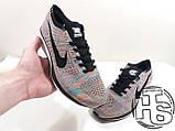 Женские кроссовки Nike Flyknit Racer Rrainbow 526628-004, фото 7