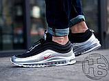 Мужские кроссовки Nike Air Max 97 Silver Black AT5458-001, фото 3