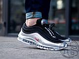 Мужские кроссовки Nike Air Max 97 Silver Black AT5458-001, фото 4