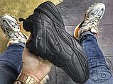 Мужские кроссовки Nike M2K Tekno Triple Black (с мехом) AO3108-012, фото 3